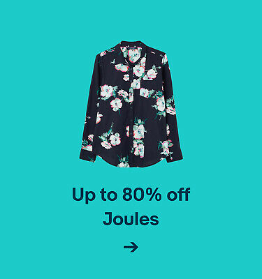 Up to 80% off Joules