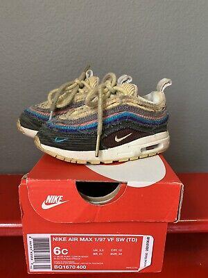 duda medias Rango  Nike Air Max 97 Baby Toddler Sean Wotherspoon Shoes | eBay