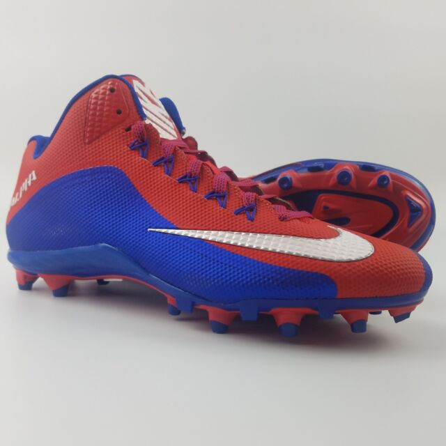 promo code 71fd5 cd93c Nike Alpha Pro 2 3 4 TD PF Mens Size 12.5 Football Cleats Red White