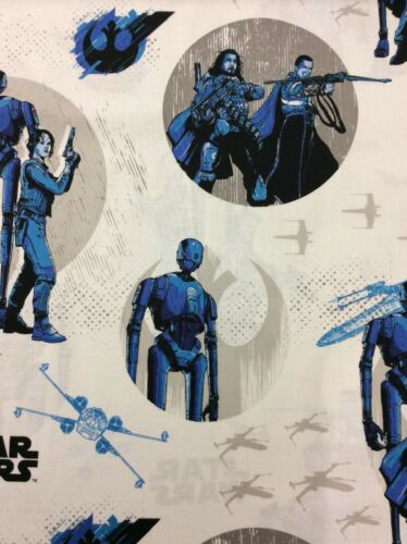Rogue One Star Wars Rebels 100/% Cotton Fabric Camelot Fabrics
