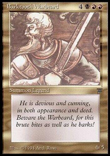 Barktooth Warbeard //// Legends //// MTG Magic the Gathering