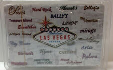 Las Vegas Hotel Names Casino Playing Cards Bridge Bellagio Wynn Venetian Mirage