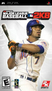 Major-League-Baseball-2K8-PSP-Complete-Fast-Shipping