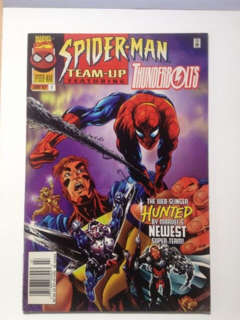 Spider-Man Team Up # 7 1997 Featuring Thunderbolts NM Marvel Comics