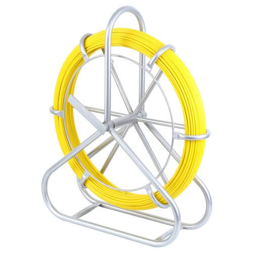 Fibre de verre Câble Extracteur Fish Tape Reel fourreaux Câble Running Rod Duct
