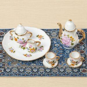 Blue-Starry-Night-Carpet-1-12-Dollhouse-Miniature-Toy-Decors-House-ornament-A6H8