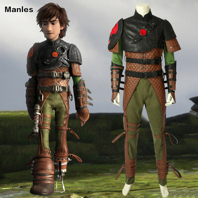 How To Train Your Dragon 2 Costume Hiccup Cosplay Halloween Adult Men Full Set Ebay