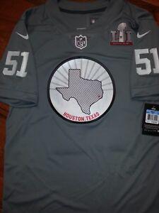 Nike Super Bowl LI 51 TX Limited Jersey Falcons Patriots Sz M ... a5ee86d13