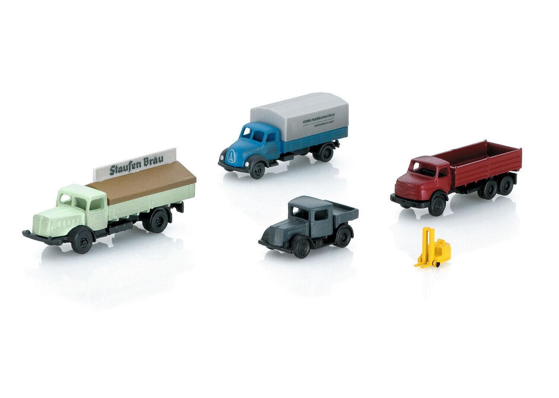 Märklin 89023 Spur Z Fahrzeug-Set 5 Pezzi Modelli Già Pronti # Nuovo in