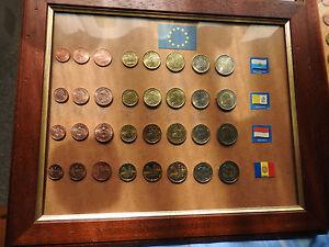 Monete-Euro-Collezione-compleata-Vaticano-2004-Monaco-2001-Andorra-2014-ecc