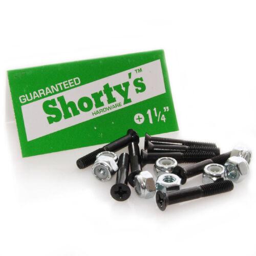 Shorty/'s Skateboard Hardware 1 1//4 inch phillips head