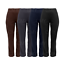 WOMENS-BOOTLEG-TROUSERS-LADIES-STRETCH-FINELY-RIBBED-PANTS-PULL-ON-BOTTOMS thumbnail 2