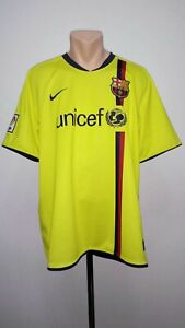 38d862df87c Image is loading Football-shirt-soccer-FC-Barcelona-Away-2008-2009-