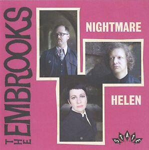 THE-EMBROOKS-Nightmare-YELLOW-vinyl-7-034-NEW-garage-freakbeat-Mod-psych