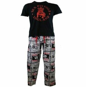 precio limitado excepcional gama de estilos disfruta del precio inferior Detalles de Sex Pistols Hombre Adulto Algodón Pijamas Ropa para Dormir  Lounge Pantalones