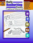 Daily Handwriting Traditional Manuscript by Evan-Moor Educational Publishers (Paperback / softback, 2000)