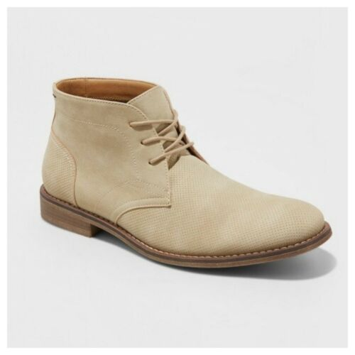 Goodfellow /& Co Kordell Chukka Boots Tan Brown Mens Casual Shoes Various Sizes