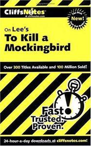 On-Lees-To-Kill-a-Mockingbird-Cliffs-Notes-by-Cliffs-Tamara-Castleman-Harpe