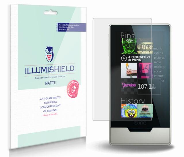 iLLumiShield Matte Screen Protector w Anti-Glare//Print 3x for Microsoft Zune HD