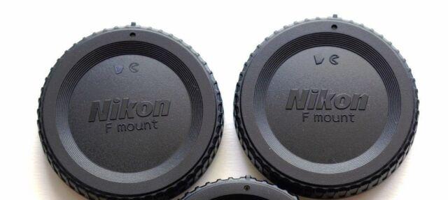 Nikon BF-1B Body Cap for SLR-Black