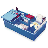 Isobox Phlebotomy Tray With Built-in Handle To-go Midsize 16l X 9.25w X 4...