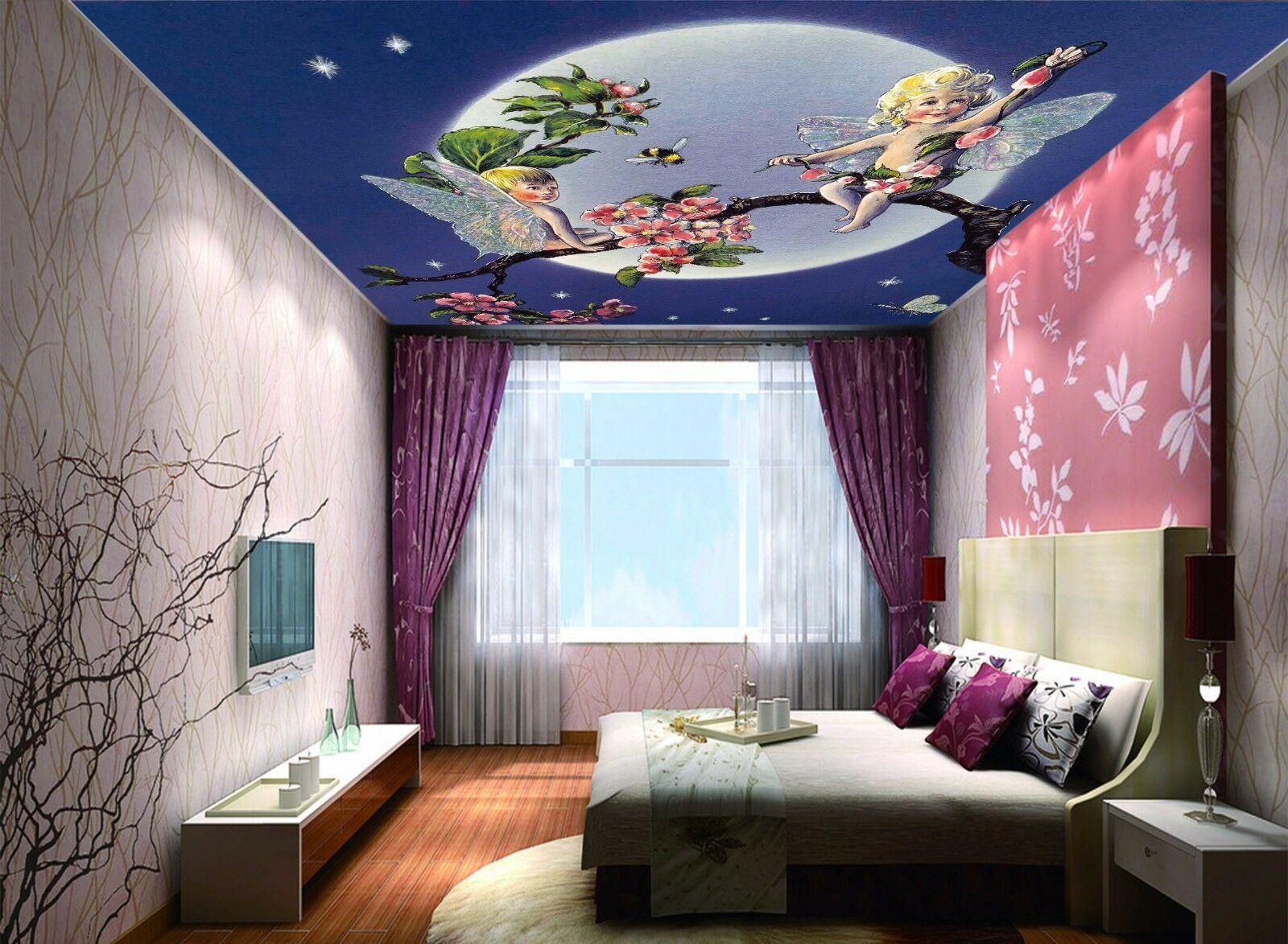 3D Wizard Squid Ceiling WallPaper Murals Wall Print Decal Deco AJ WALLPAPER AU