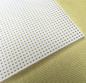 1 sheet - 10 Count Plastic Canvas 33 x 26 cm Embroidery Canvas Plastic mesh