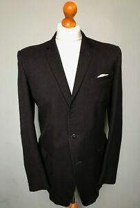 Vintage-grey-black-1960-039-s-suit-size-38-long