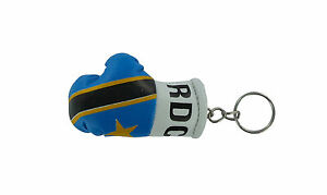 PORTACHIAVI pelle porta chiavi auto keychain Guantoni da boxe bandiera Estonia