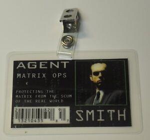 Matrix-ID-Badge-Agent-Smith