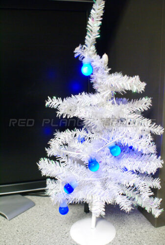 NEW Dell USB Personal Portable Holiday Christmas Blue String Desk Table Lights