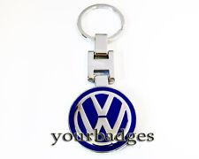 New Chrome Metal VW Volkswagen key chain Keyring