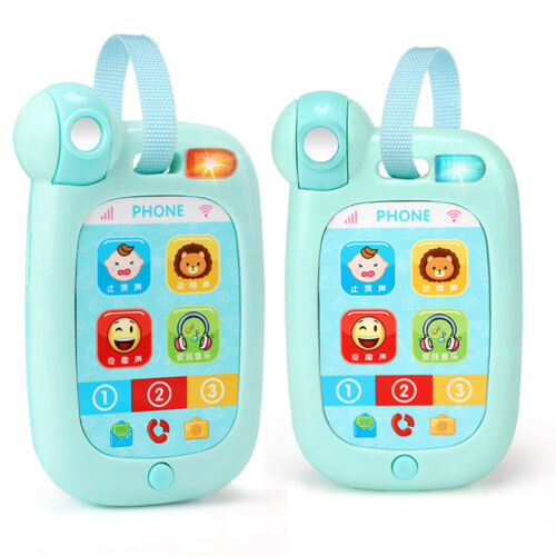Baby Toys Simulation Music Cell Phone Study Educational Developmental Kids Gift