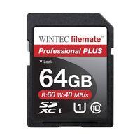 64gb Sd Professional Plus Memory Card For Canon Eos Rebel T3,t3i,t4i,t5,t5i Slr