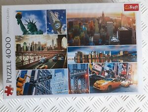 4000 Piece New York Jigsaw Puzzle Trefl Premium Quality Brand New