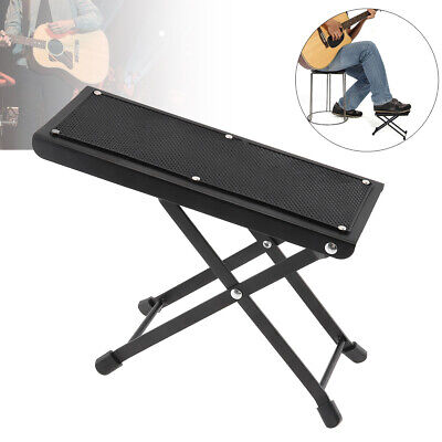 Superb Metal Large Guitar Footstool Foot Rest Plate For Comfortable And Solid Support Ebay Machost Co Dining Chair Design Ideas Machostcouk