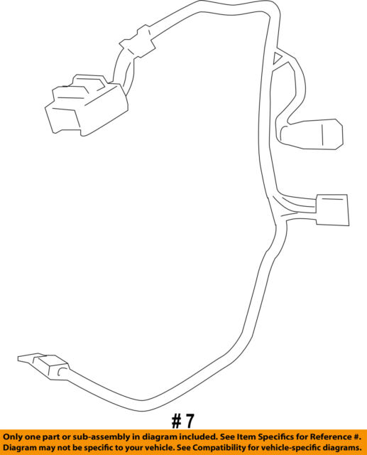 Ford Oem Steering Wheel Wiring Harness Am5z14a320a Image 7 Ebayrhebay: Ford Steering Wheel Wiring Harness At Gmaili.net