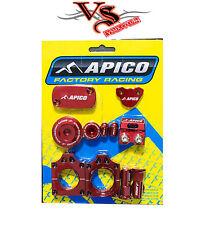 Apico fábrica Bling Pack Kit Honda CRF450X 05-17 Motocross MX