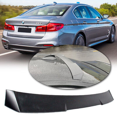Painted ABS A Look Rear Roof Spoiler Wing For 2017~19 BMW 5-Series G30 Sedan