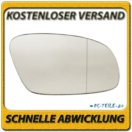 Miroir de verre pour vw new beetle 2003-2010 droit côté passager asphärisch