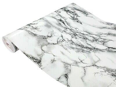 Klebefolie 6€//m² Tapete Selbstklebefolie Marmi weiss dcfix Marmor Granit Stein