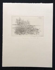Jens cords, fiabe detenzione, acquaforte, 1978, a mano firmata e datata