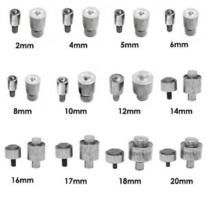 Details about 2mm-20mm Eyelet Setting Tool Grommet Die Set Blue Hand Press  Machine For Leather
