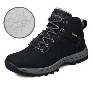 46ad9a3da8 Details about Men s winter snow boots outdoor fashion sneaker super warm  shoes UK Casual Suit