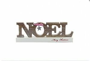 image is loading noel wooden decorative block merry christmas free standing - Merry Christmas Decorative Blocks