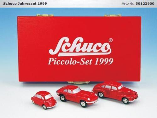 Schuco Piccolo année Set 1999 neufs age 50123900