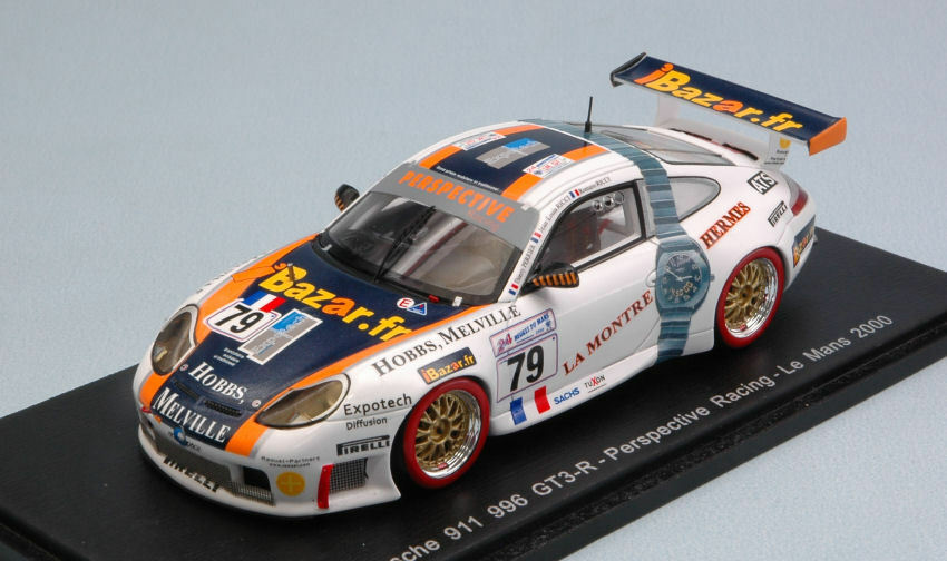 Porsche 996 Gt3 R th Lm 2000 J.L. Ricci   T. Perrier 1 43 Model