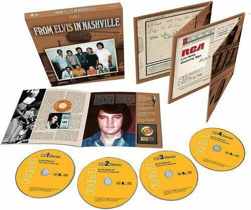 Elvis Presley : From Elvis in Nashville CD 4 discs (2020) ***NEW*** Great Value