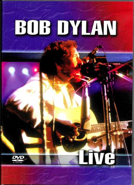 BOB DYLAN LIVE - DVD -12 Great Tracks inc. Hurricane, Jokerman, Oh Sister - VGC.