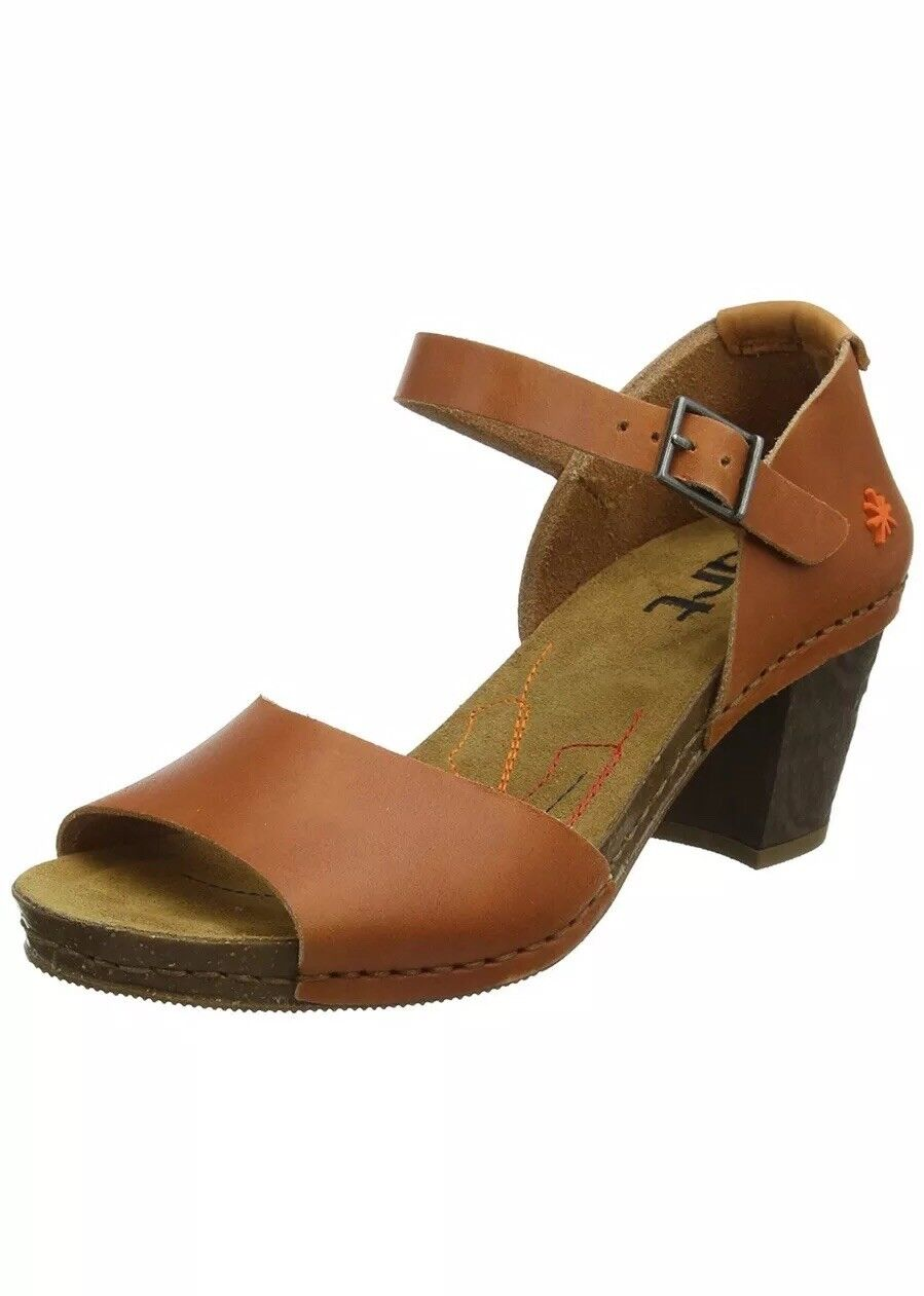 Art Women's Mojave Vachetta Sandals  UK 7 EU 40 Brown (Cuervo) 0325 A Strap